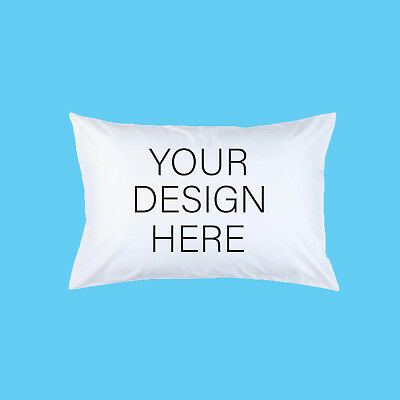 Custom pillow case. Design your own. Photo, dog, cat, pet. Personalised. Gift