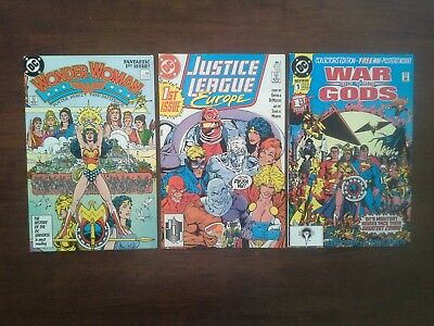 Batman & Wonder Woman 1st Issue Lot x6 Outsiders Justice League 87 2nd Series #1