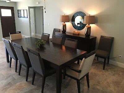 12 Piece Bernhardt Dining Room Set - Barely Used