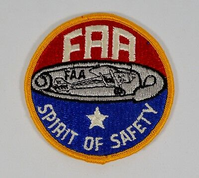 FAA Federal Aviation Administration 'Spirit of Safety' Embroidered Patch 3""