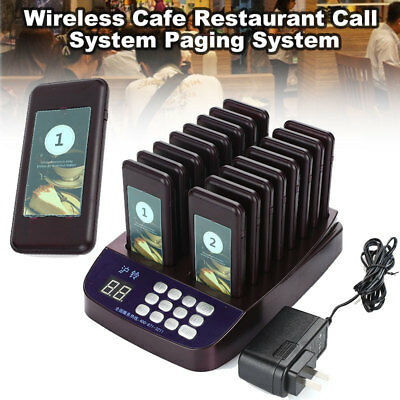16 In1 System Food Cafeteria Coaster Pagers High Performance Eating Pager
