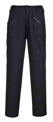 Ladies Action Hardwearing Durable Workwear Healthcare NHS Scrub Trousers - S687