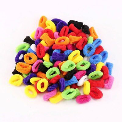 Scrunchie Hair Bobble Elastic Ring Bands Scrunchies Hair Tie Holder Ponytail 100