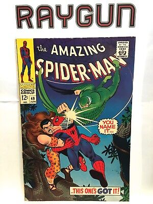 Amazing Spider-Man #49 VF+ Marvel Comics June 1967