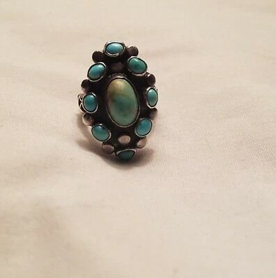 RARE old Turquoise Ring