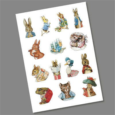 1 x Full Set Beatrix Potter Decals Stickers  - FAST FREE DELIVERY