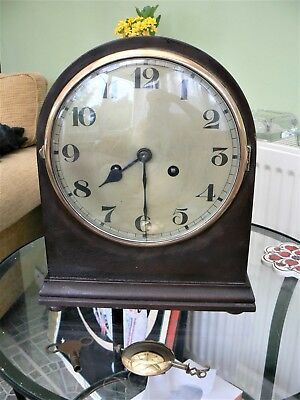 Edwardian Dome Mantle Clock c. 1910