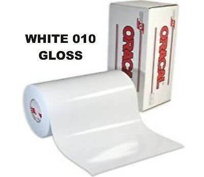 """12"""" x 10 yd roll (30') - Oracal 651 Vinyl - Adhesive Permanent Outdoor - White"""