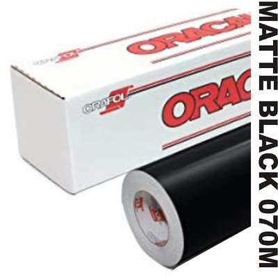 "12"" x 10 yd roll (30') - Oracal 651 Vinyl - Permanent Outdoor - Black Matte"
