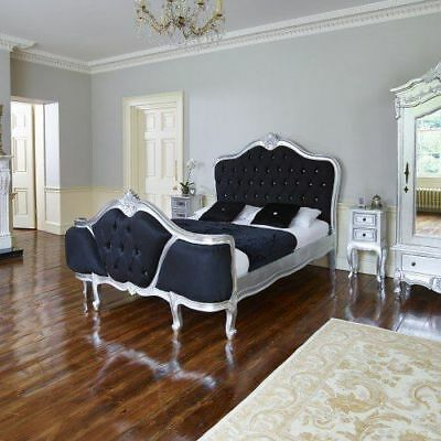 IN STOCK French Demi corbeille French super king bed.  All colours available