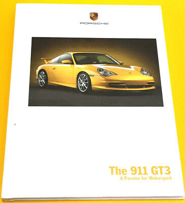 New 2003 911 GT3 996 Hard Cover Brochure,Very Rare