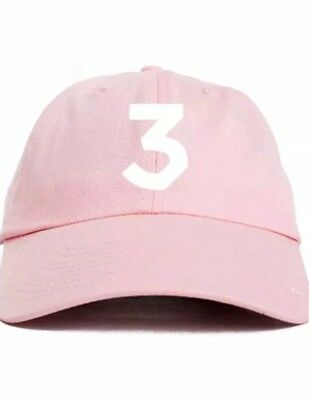 Chance The Rapper Custom Unstructured Pink Dad Hat Cap Coloring Book New