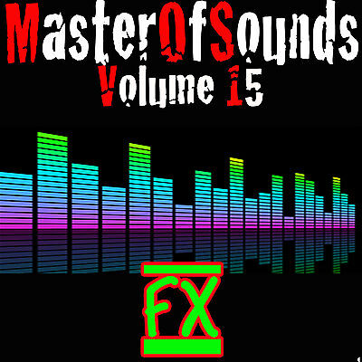 COOL AUDIO SOUND Effects and Samples on DVD-ROM  Great