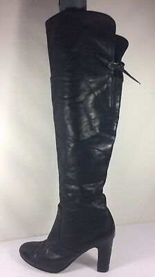 8306773c6 SAM EDELMAN OVER The Knee B-Sarah Womens 9m Leather Boots Gorgeous ...