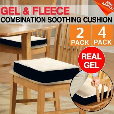 Comfortable Memory Foam And Gel Combination Cushion Seat For Chair Car EA