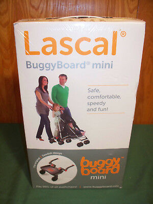 BRAND NEW FACTORY WRAPPED/ SEALED Lascal BuggyBoard Mini Ride-On Stroller Board