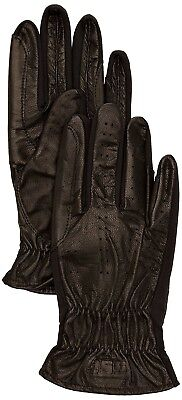 (3, Black) - SSG Gloves 4000 Pro Show Riding Gloves - Black, Size 3. Huge Saving