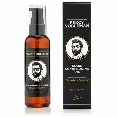 Percy Nobleman Signature Beard Oil 100ml *QUICK POST*OZ SELLER*