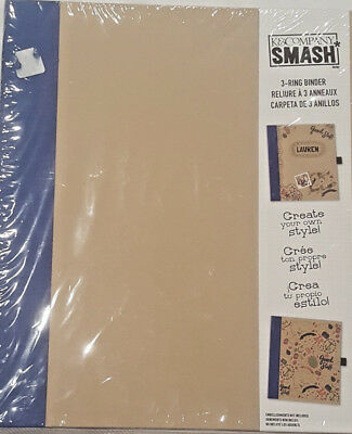 K&Company Smash 3 Ring Binder