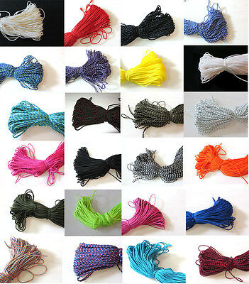 300ft 2mm Nylon Rope Braided Cord Rope For DIY Jewelry Bracelet