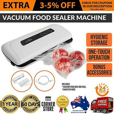 Vacuum Sealing Sealer Machine Food Storage Packaging System Cryovac Chef New