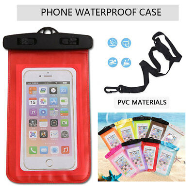 20m Universal Snow/Waterproof Underwater Dry Bag Pouch Case Cover Mobile Phones