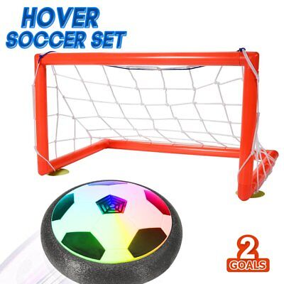 ThinkMax Kids Toys Soccer Goal Set Hover Ball with 2 Gates for Kid Gifts Sports