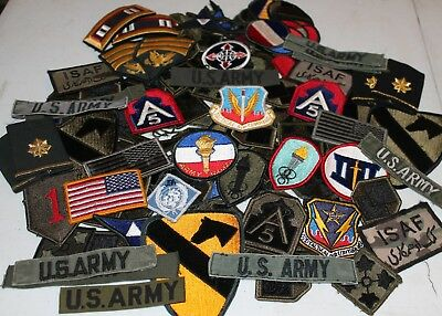 Vintage US Military Patches - Collectible Army Patches - WWII Patches - Vietnam