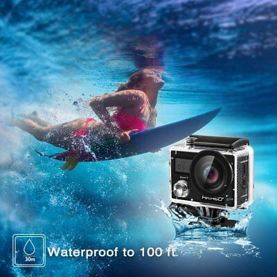 Akaso Brave 4 Waterproof Sports Action Camera Ultra HD 4K 20MP With WiFi (Black)