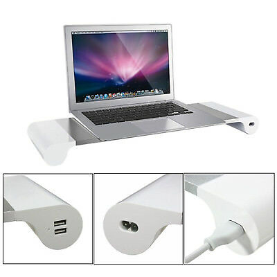 Multifunction Space Bar iMAC & PC Monitor Stand mit 4 x USB Ports Organizer
