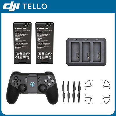 DJI RYZE TELLO Drone Battery Charger Charging Hub Remote Controller Props Guard
