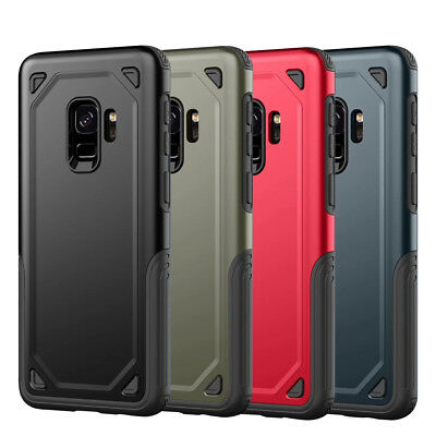 For Samsung Galaxy S9/S9 Plus【Heavy Duty】Rugged Shockproof TPU Phone Case Cover