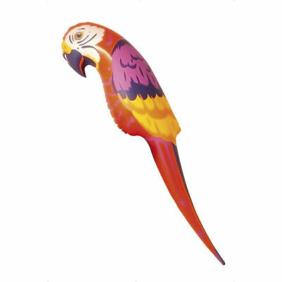 Inflatable Blow Up Parrot Fancy Dress Costume Accessory Pirate Hawaiian 116 cms