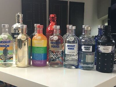 absolut vodka limited Sammlung NEU