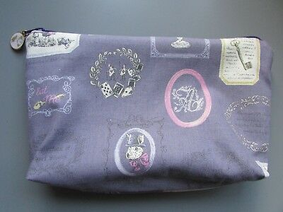 0e7dd55967 Alice in wonderland Makeup Cosmetic Toiletry Bag