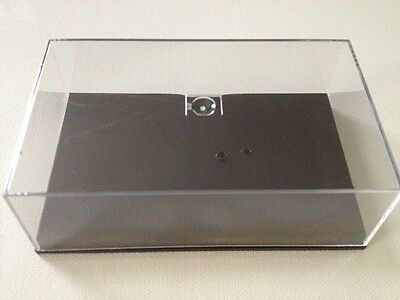 New Perspex / Plastic Case / Box and Plinth - Fits Minichamps F1 cars up to 2009