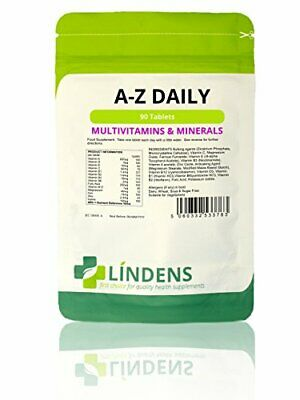 Lindens Multivitamin A to Z Daily Every Day  Multi Vitamins & Minerals Tablets