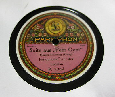 """Parlophon Orchester, London - Morgenstimmung / Ases Tod """"Peer Gynt"""" (Grieg)"""