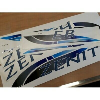 Lunar (2009) Zenith Caravan Stickers Decals Graphics - SET OF