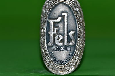 Vintage bicycle - Tablet Logo of the manufacturer-Fels -4638