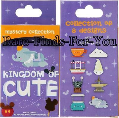 """Disney Parks """"Kingdom of Cute"""" Mystery 2-Pin Box Set Booster Pack (NEW/SEALED)"""