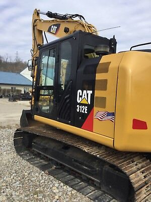 Caterpillar 312E..Quick Coupler, Cameras, Nice Clean Machine. 2000 Hours