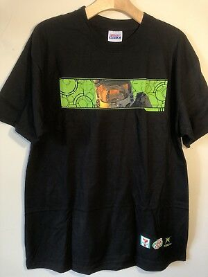 Hanes Label - XBox HALO 2 Fueled by MOUNTAIN DEW - 7-11 Game (L) T-Shirt