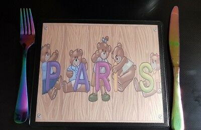Personalised Children's Place Mat / Your own name / Child's Mat
