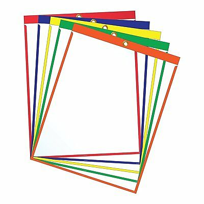 """Job Ticket Holders - 9""""x12"""" - Pack of 30 Top-loading with Eyelet"""