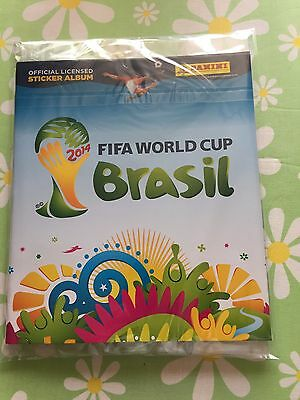 Panini FIFA World Cup WM 2014 Brasil - Komplett Set mit 640 Sticker + Album