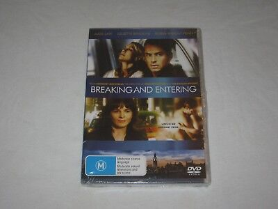 Breaking And Entering - Jude Law - Brand New & Sealed - Region 4 - DVD