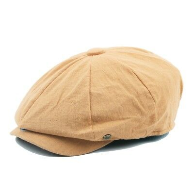 Men Women Peaked Flat Cap Gatsby Newsboy 8 Panel Baker Driver Hats Cotton Casual