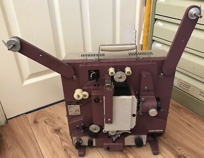 Rare Hokushin SC-10 16mm Cine Film Projector, Auto Load Feature! Spares Repairs