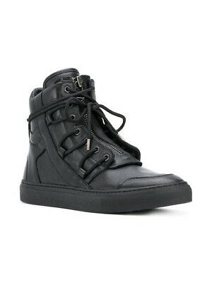 Helmut Lang lace-up High Tops Leather Sneakers Size 43 Men's H06HM001 Brand New